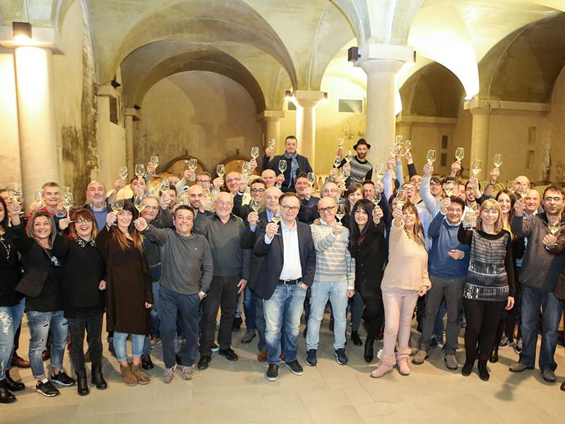 Cantina Moncaro Cena Sociale -Presidente Marchetti e Dipendenti- -2