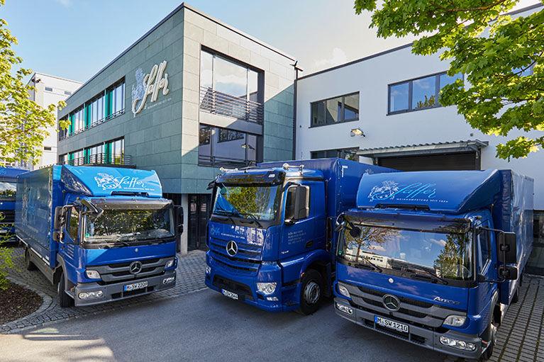 Leistungsstarke Logistik